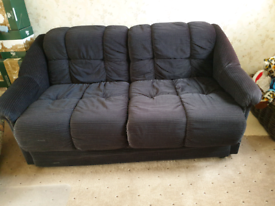 Double Foam Sofa / Bed. Exc clean condition. Collect SL4