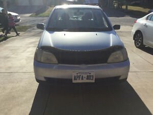 2002 Toyota Echo Sedan for parts