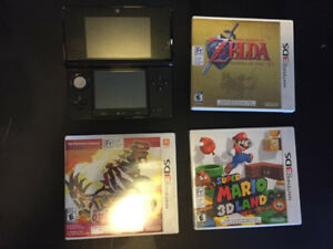 Nintendo 3DS + 3 games
