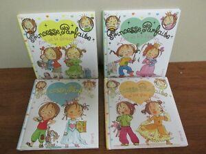4 Petits livres **Princesse Parfaite** de la collection Fleurus