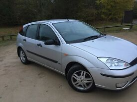 Ford Focus, 1.6,ONLY 67656 WARRANTED MILES, LONG MOT