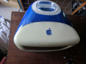 iMac g3, in working condition.
