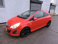 11 Vauxhall Corsa 1.2i Limited Edition Damaged Salvage Repairable