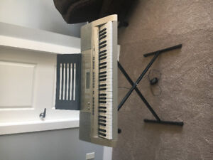 Casio LK-270 lighted, 61 keyboard with stand