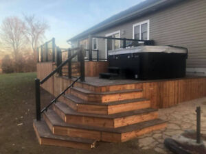 Cams Contracting- Quality Fences Custom Decks! Booking Now!