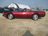 1991 Chevrolet Corvette Convertilbe Low Kms