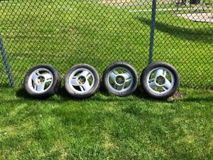 Mag Sunfire 16'' 205/65/R16 avec pneus Bridgestone Potenza 60$