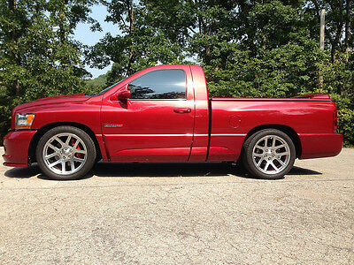 2006 dodge ram 1500 srt 10 srt10 regular cab 6 speed manual viper powered used dodge ram. Black Bedroom Furniture Sets. Home Design Ideas