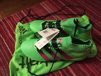Adidas ace 16.1 primeknit football boots uk size 9.5