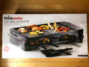 2-in-1 Grill & Raclette