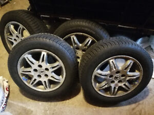 Acura TL winter tires and rims