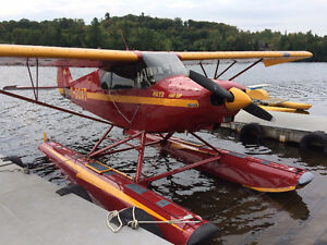 Piper PA-12 Rebuilt - Floats and Wheels - Nice!