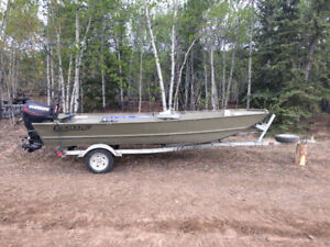 "16"" Flat bottom John boat"