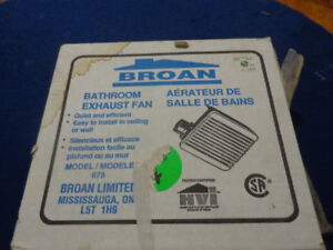 Gutter Guard - Plastic, and Never installed Bathroom exhaust fan