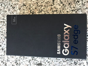 Samsung S7 edge sealed Brand new in Box West Island Greater Montréal image 1