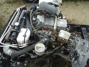2007 Hino 165 Cube Van Engine and Transmission