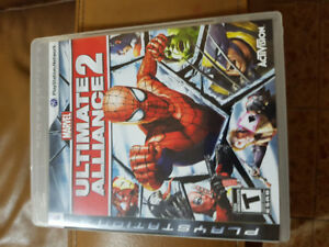 Mint PS3 Marvel Ultimate Alliance 2 Game
