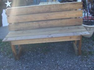 Outdoor benches kijiji free classifieds in mississauga for Outdoor furniture kijiji