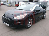2013 Peugeot RCZ Sport THP 156 1.6 FIRE DAMAGED