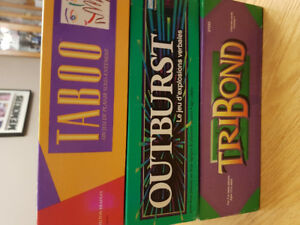 Three 'vintage' Board Games!
