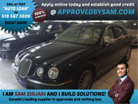 Luxury S-Type Jaguar Available for ODSP Income Financing.
