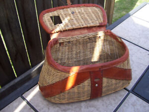 Classic Wicker Trout Basket-Made in British Hong Kong