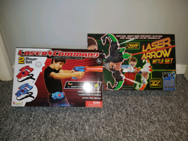 2 x Laser Games, new in box