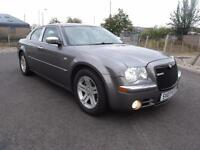 "CHRYSLER 300C 3.0 CRD V6 4 DOOR AUTOMATIC 218BHP FULL SERVICE HISTORY 2007 ""07"""