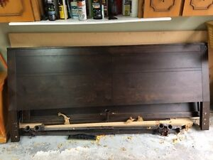 King Sized head board and frame