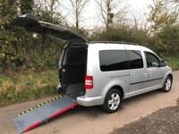 2014 Volkswagen Caddy Maxi Life 1.6 TDI 5dr DSG WHEELCHAIR ACCESSIBLE VEHICLE...