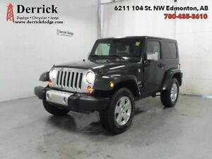 2010 Jeep Wrangler 2Dr Sahara 2 Tops Chrome Grp Hitch $213.7 B/W