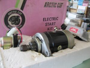 ELECTRIC START KIT FITS MOST OLDER ARTIC CAT SNOW MOBILES