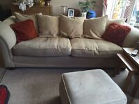 DFS sofa and two chairs
