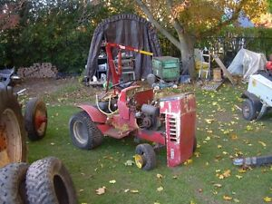 Sears old ST 16 yard tractor with snowbler. Kitchener / Waterloo Kitchener Area image 1