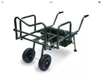 NEW NGT DYNAMIC CARP BARROW 2/4 WHEEL
