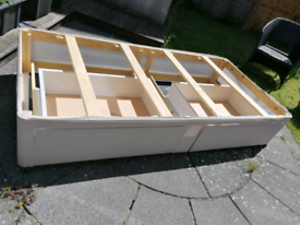 SINGLE BED FRAME BASE WITH 2 DRAWS
