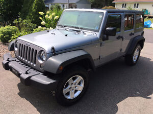 Unlimited 2015 Sport Jeep Wrangler 4x4