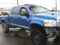 2008 DODGE MEGACAB LARAMIE 2500 4X4 FOR PARTS ONLY !!