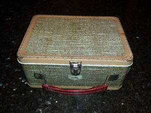 Vintage Metal Thermos Lunch Box