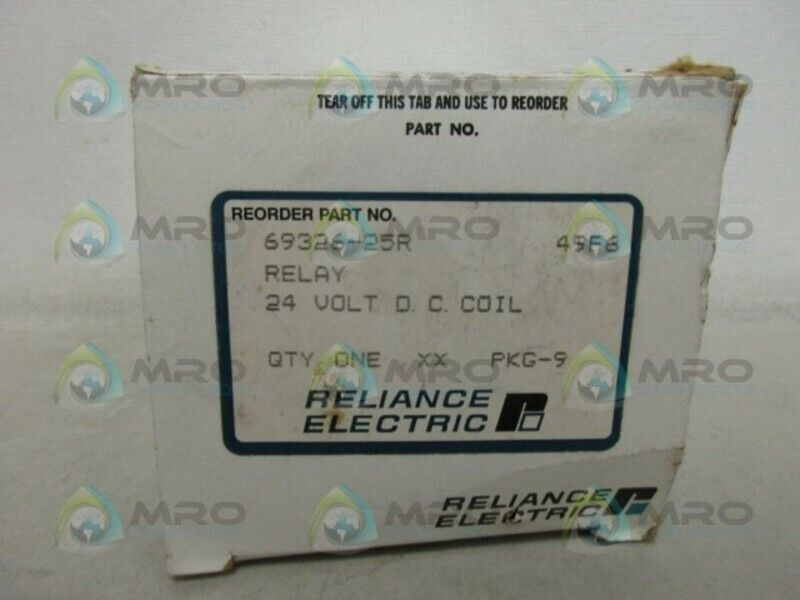 RELIANCE ELECTRIC 69326-25R RELAY *NEW IN BOX*