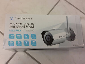 Amcrest HDSeries Outdoor 1.3MP WiFi Wireless IP Security Bullet