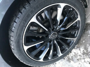 "18"" WINTER TIRES and RIMS - LIKE NEW"