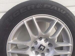 "15"" Universal 4 Bolt Rims and All Season Tires Sarnia Sarnia Area image 5"