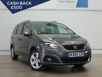 2014 SEAT ALHAMBRA 2.0 TDI CR Ecomotive SE Bluetooth 1 Owner Cruise