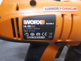 Worx 14.4V cordless hammer drill