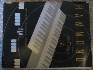 Hammond Organ M100 owners manual