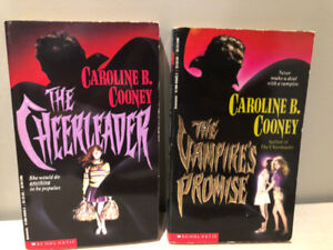 The Cheerleader and The Vampire's Promise - books by C. Cooney