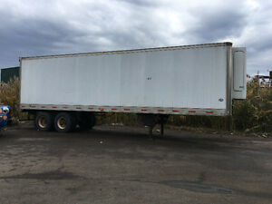 98 Reefer utility trailer  28ft