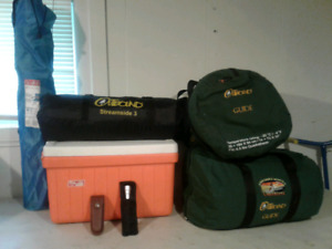 Package deal on camping supplies