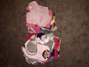 Baby girl wardrobe NB-12 months